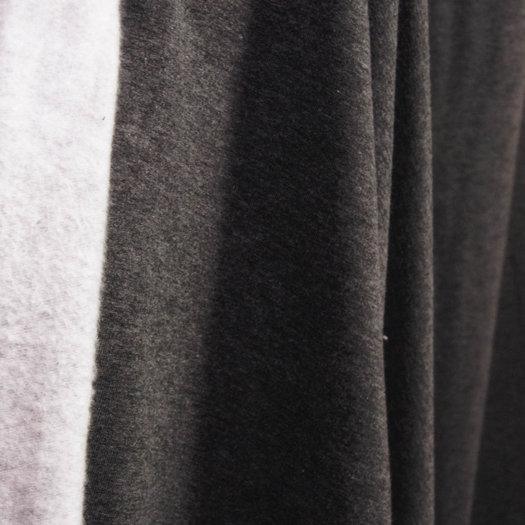 Bamboo Cotton Spandex Stretch Fleece - Charcoal Mix - [product_typpe] - Earth Indigo