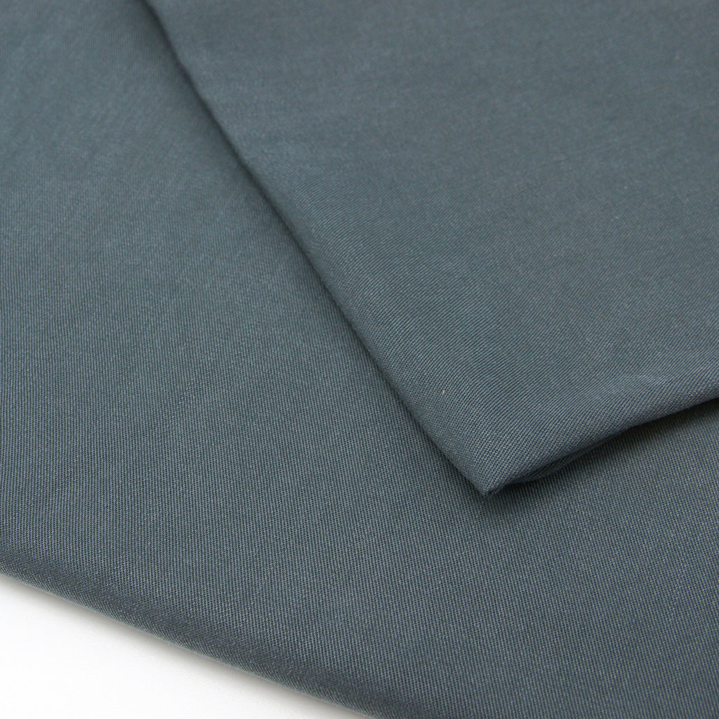 Enzymatic Tencel Lyocell Twill - Solstice - Earth Indigo
