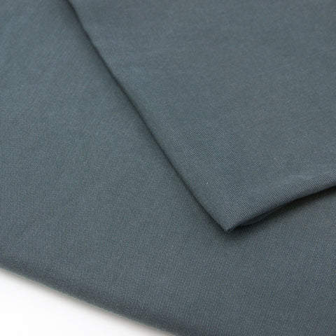Enzymatic Tencel Lyocell Twill - Grey Flint