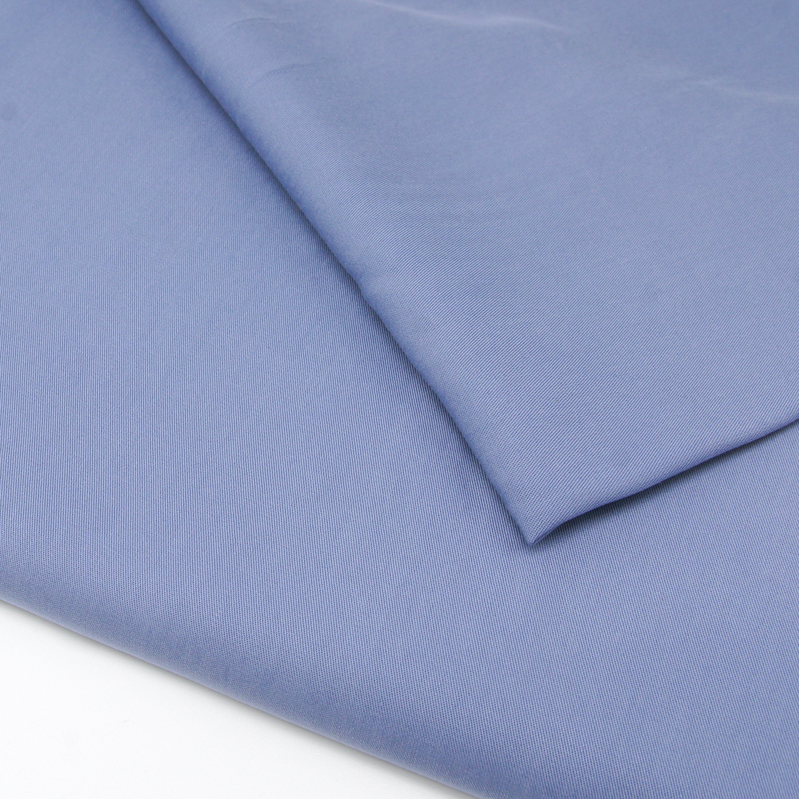 Enzymatic Tencel Lyocell Twill - Blue - Earth Indigo