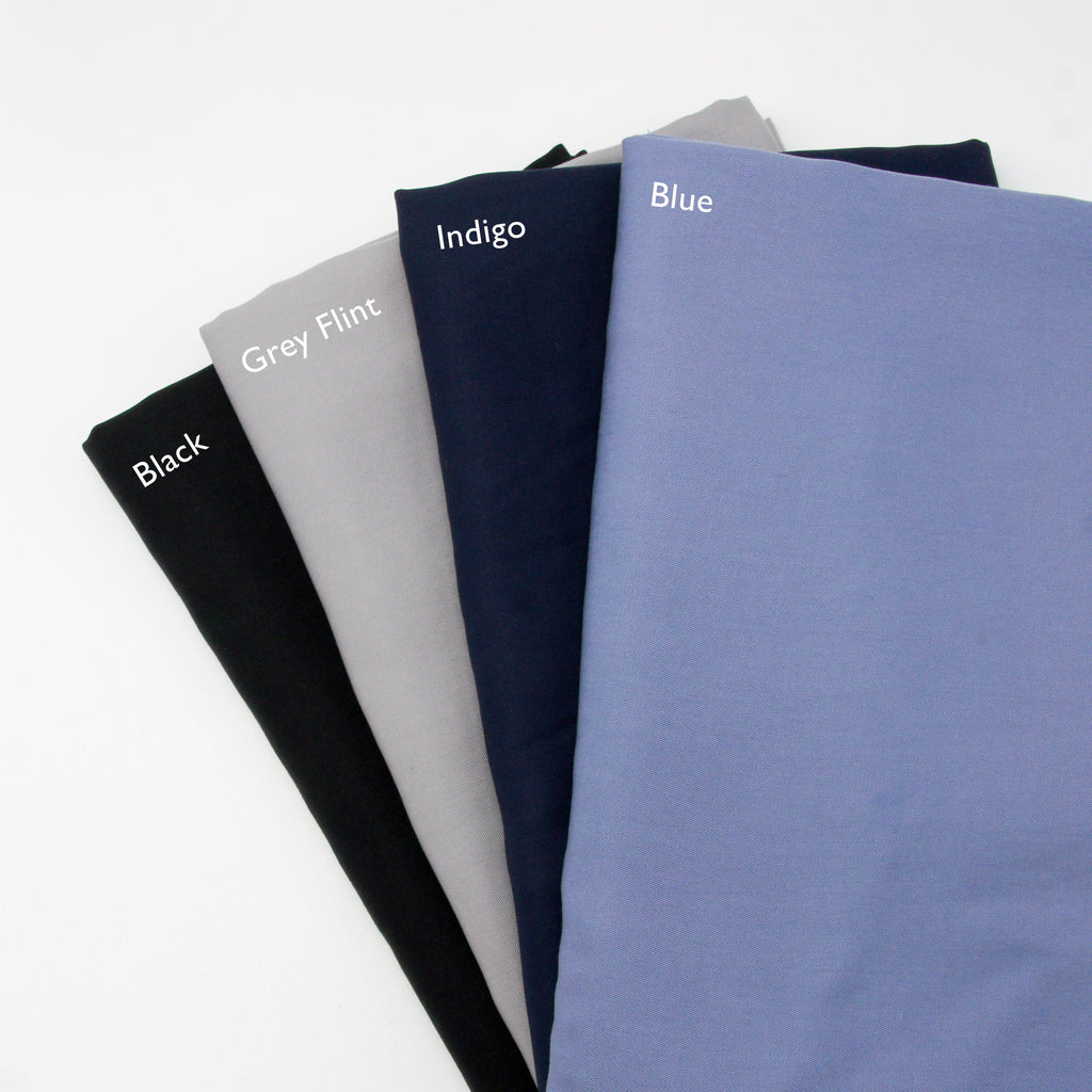 Enzymatic Tencel Lyocell Twill - Indigo - Earth Indigo