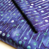 Designer Batik - Purple Ontario Rainy Days - [product_typpe] - Earth Indigo