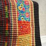 Vintage Hmong Embroidered Roll - 19.5