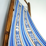 Mayan Stripe Ikat - Blue White Guatemalan Handwoven - [product_typpe] - Earth Indigo