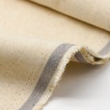 Linen Organic Cotton Solid - Natural