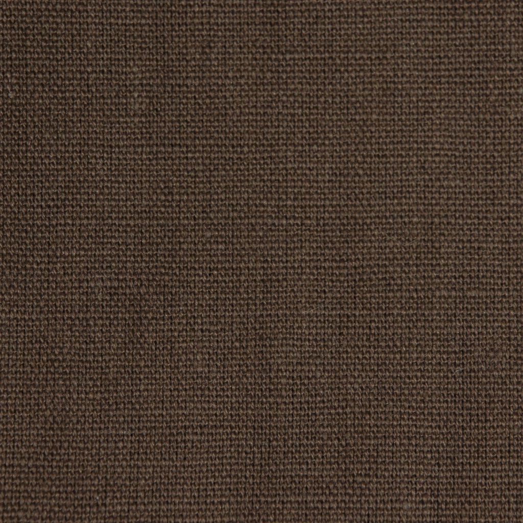 Hemp Organic Cotton Canvas - Brown - woven - Earth Indigo