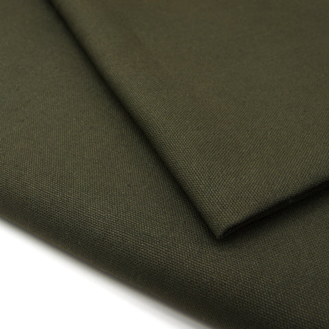 Hemp Organic Cotton Canvas - Dark Grey