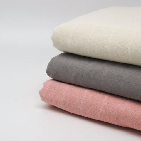 Bamboo Cotton Spandex French Terry - Heather Almond