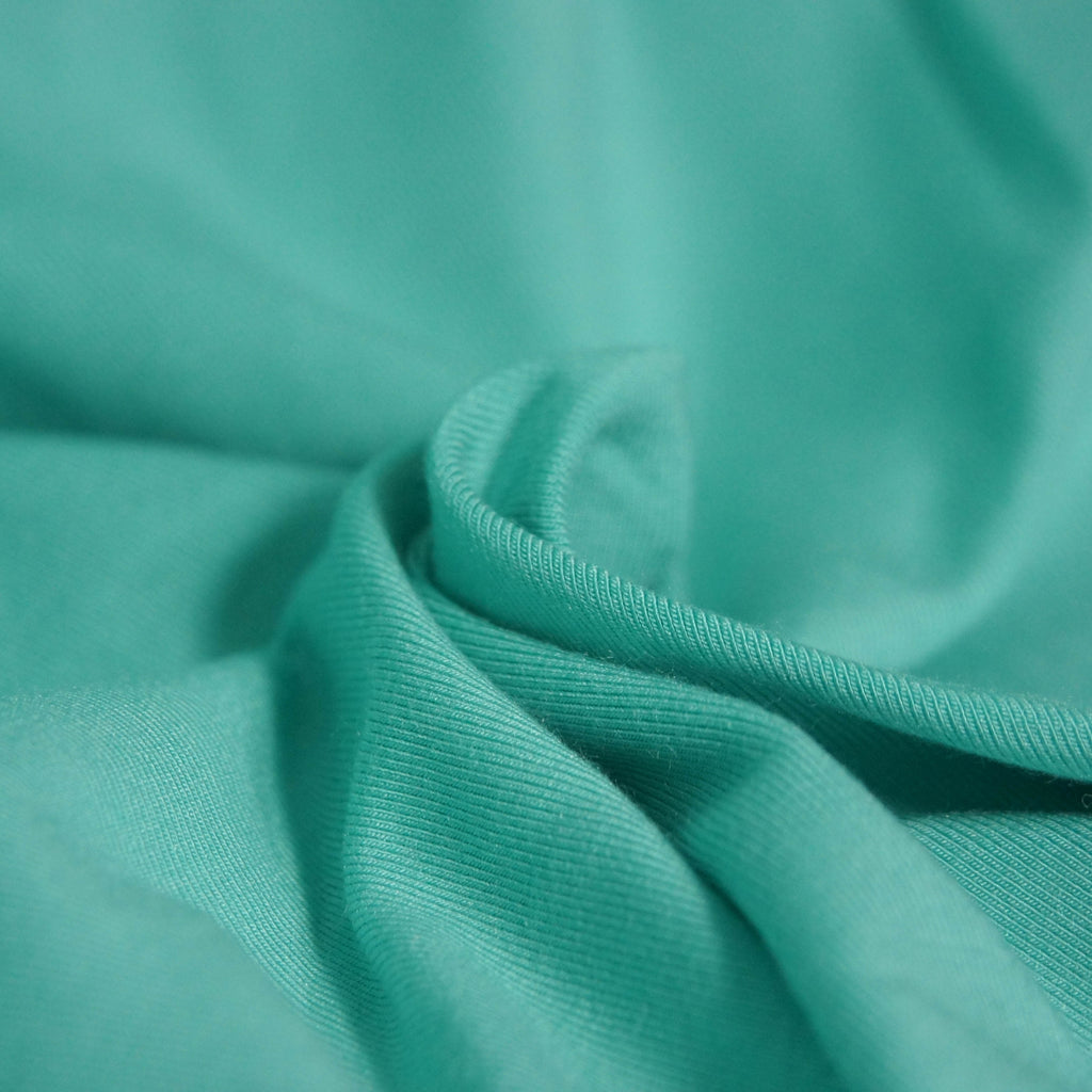 Modal Spandex Jersey - Mint - Knit - Earth Indigo
