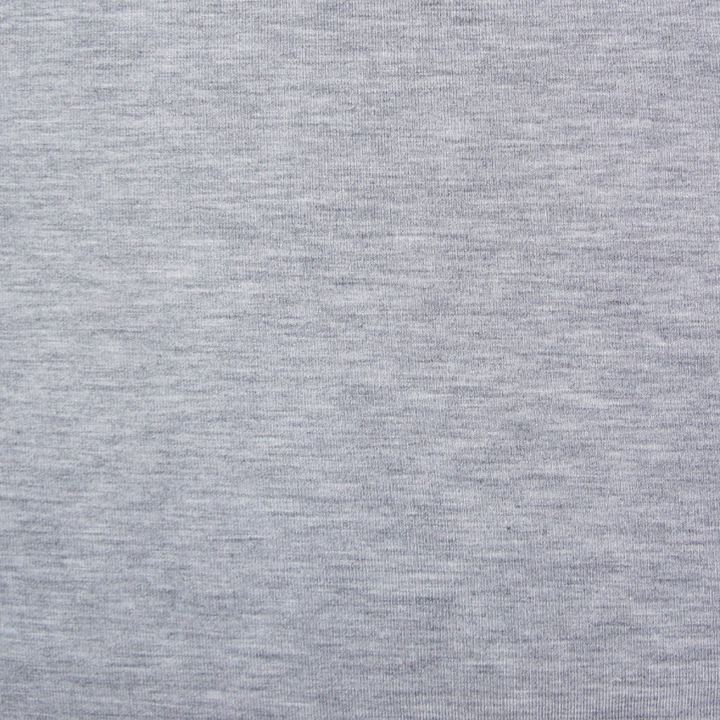 Bamboo Cotton Spandex Jersey - Light Grey Mix - [product_typpe] - Earth Indigo