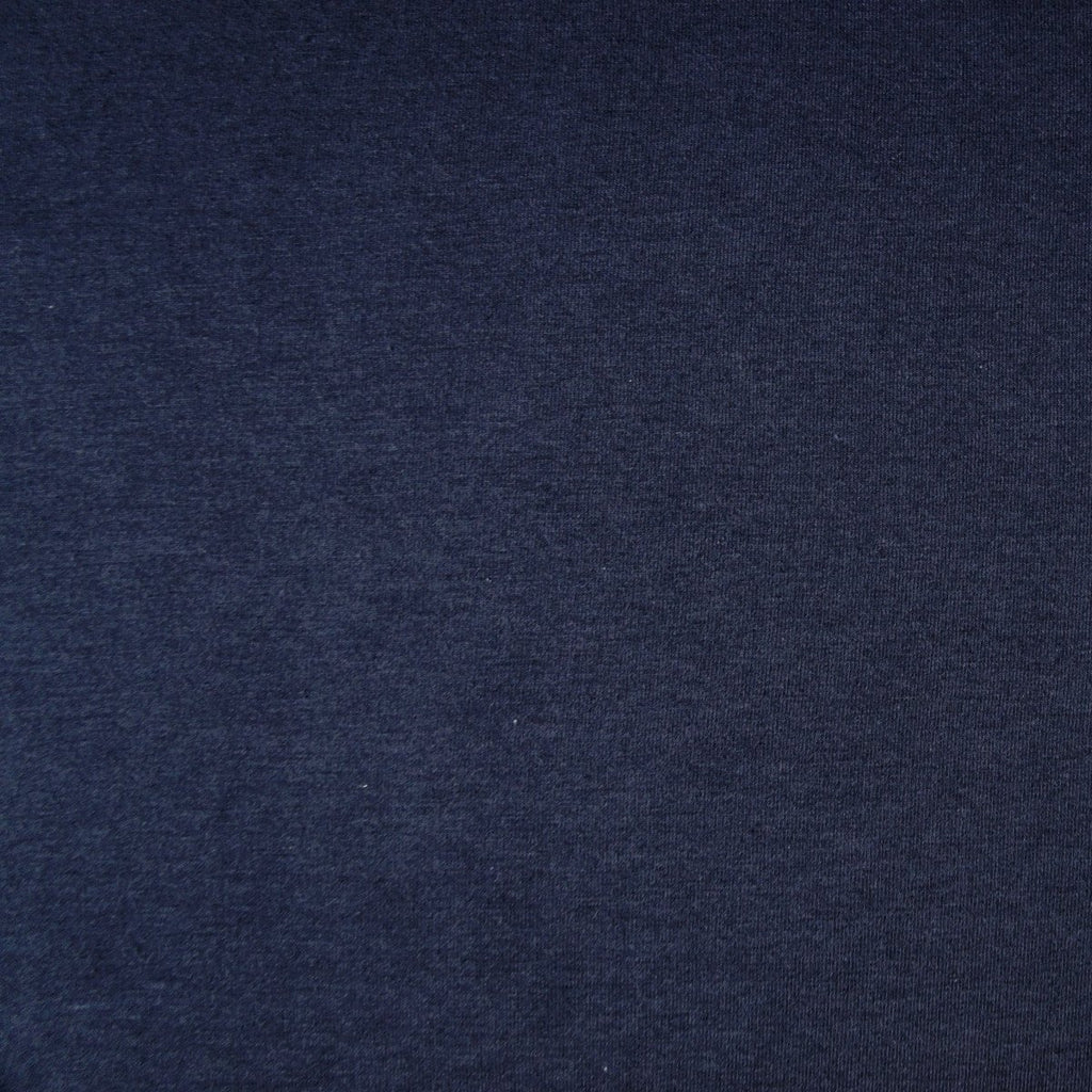 Bamboo Cotton Spandex Jersey - Navy Blue - [product_typpe] - Earth Indigo
