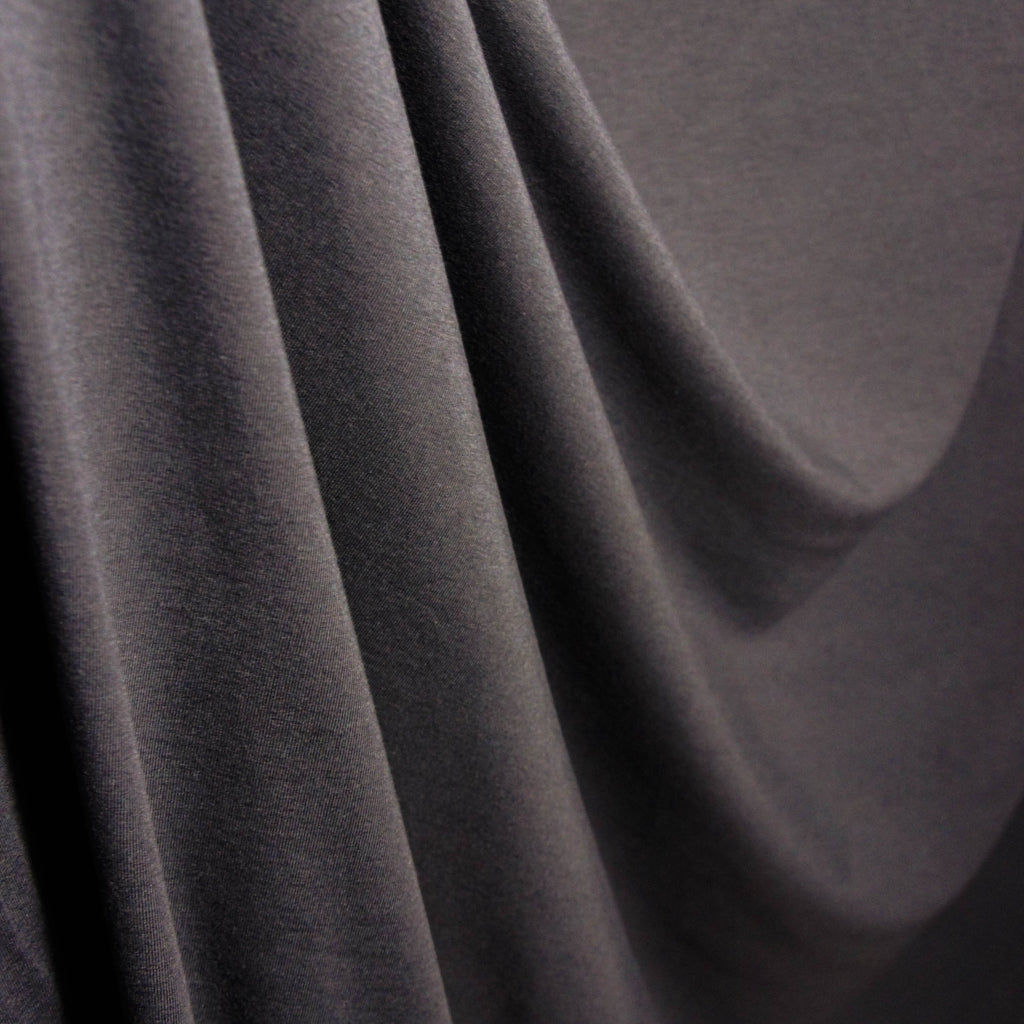 Bamboo Cotton Spandex Jersey - Dark Shadow - [product_typpe] - Earth Indigo