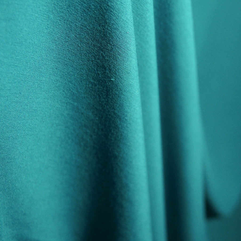 Bamboo Cotton Spandex Jersey - Teal - [product_typpe] - Earth Indigo