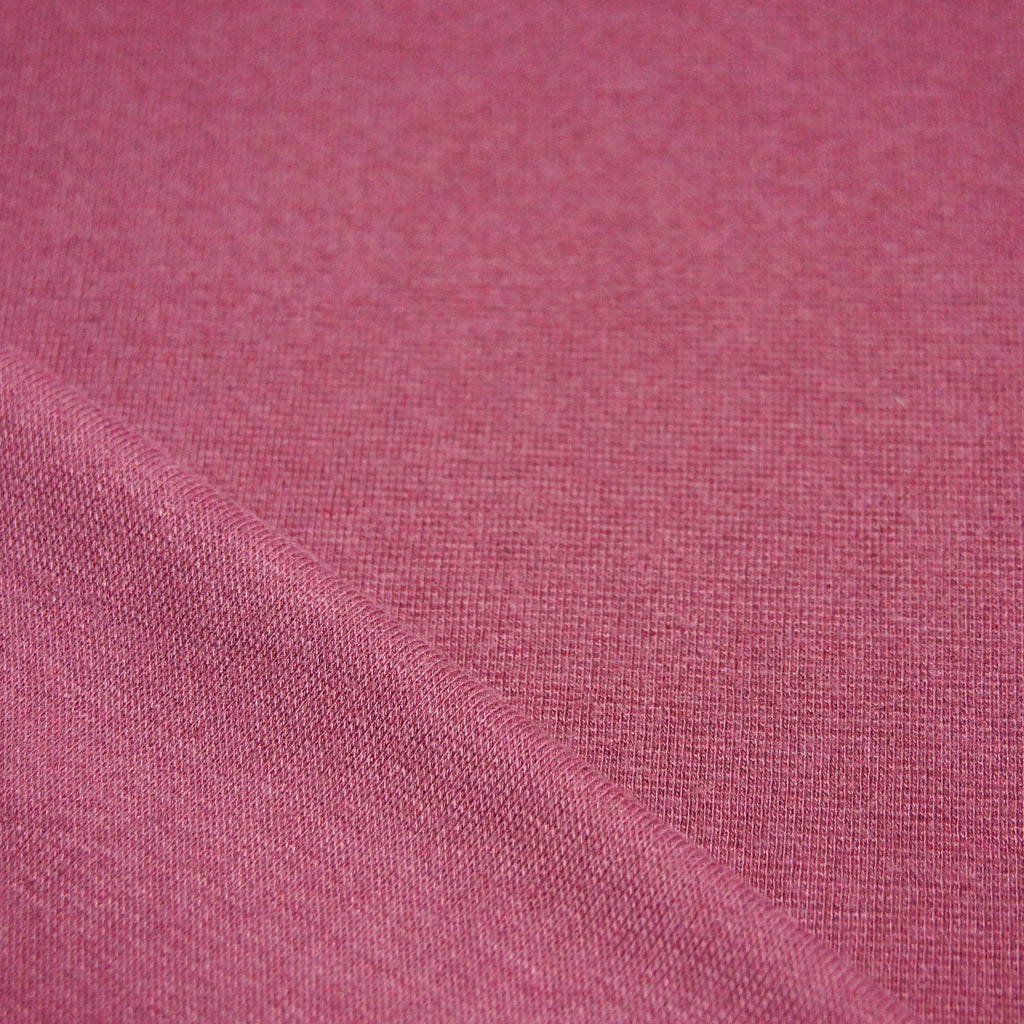 Bamboo Cotton Spandex 1x1 Rib Knit - Rose Brown - [product_typpe] - Earth Indigo