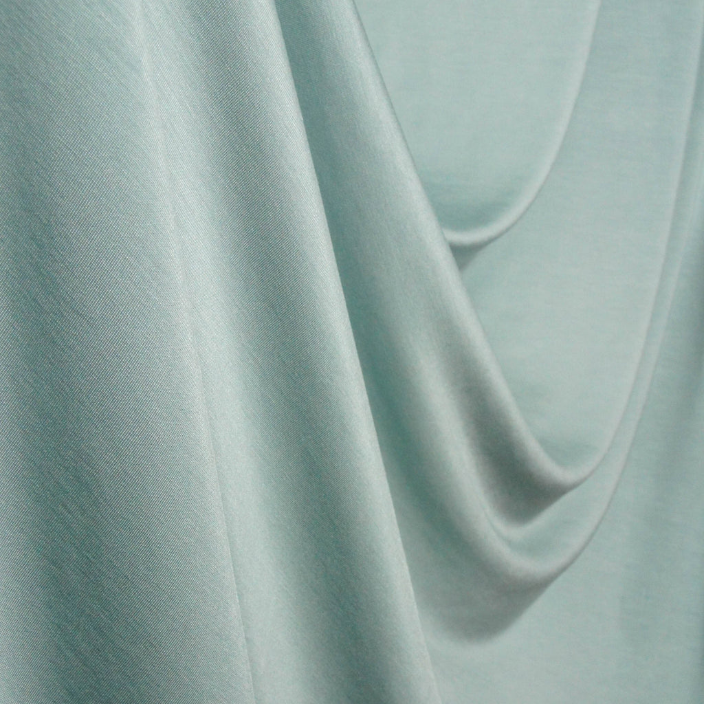 Supersoft Baby Modal Spandex Jersey - Green Mist - Knit - Earth Indigo