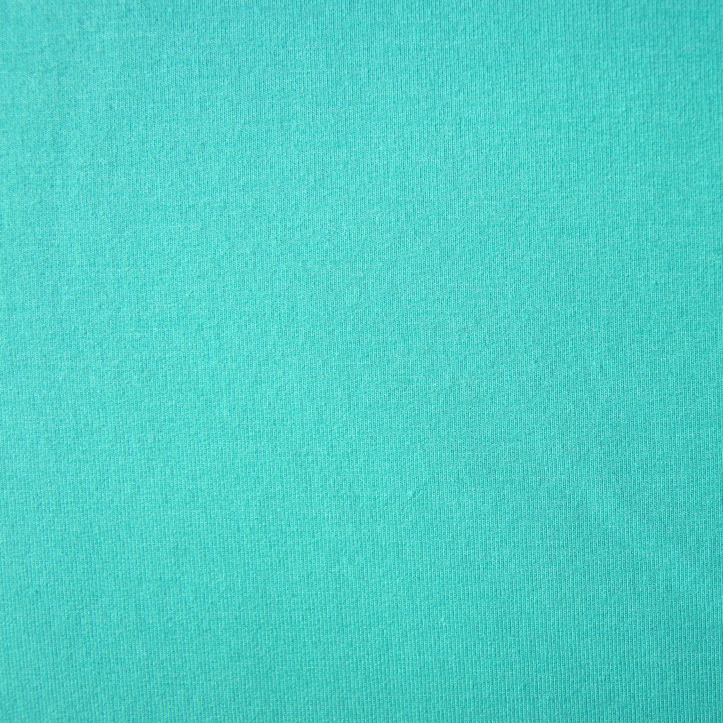 Bamboo Cotton Spandex Stretch Fleece - Mint - Knit - Earth Indigo
