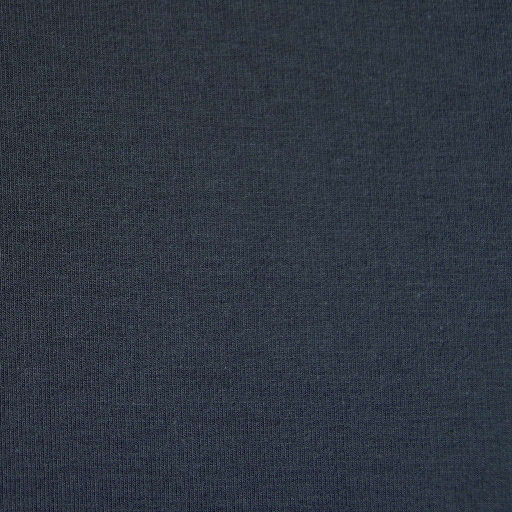 Bamboo Cotton Spandex Stretch Fleece - Dark Shadow - [product_typpe] - Earth Indigo