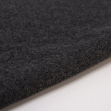 Bamboo Cotton Spandex 2x2 Rib Knit Fabric - Charcoal Mix - Knit - Earth Indigo