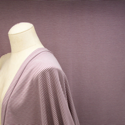 Tencel Organic Cotton Spandex Jersey - Light Grey Mix