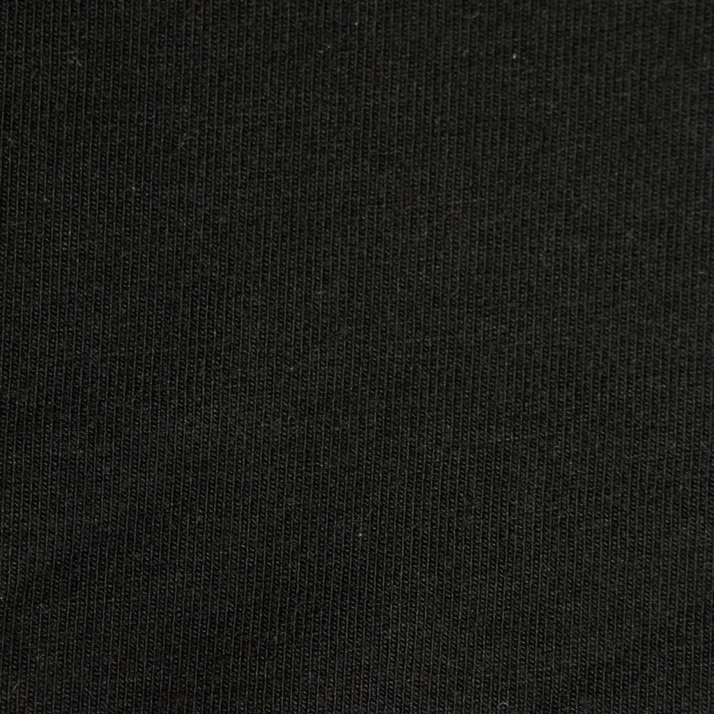 Tencel Organic Cotton Spandex Jersey - Black - [product_typpe] - Earth Indigo