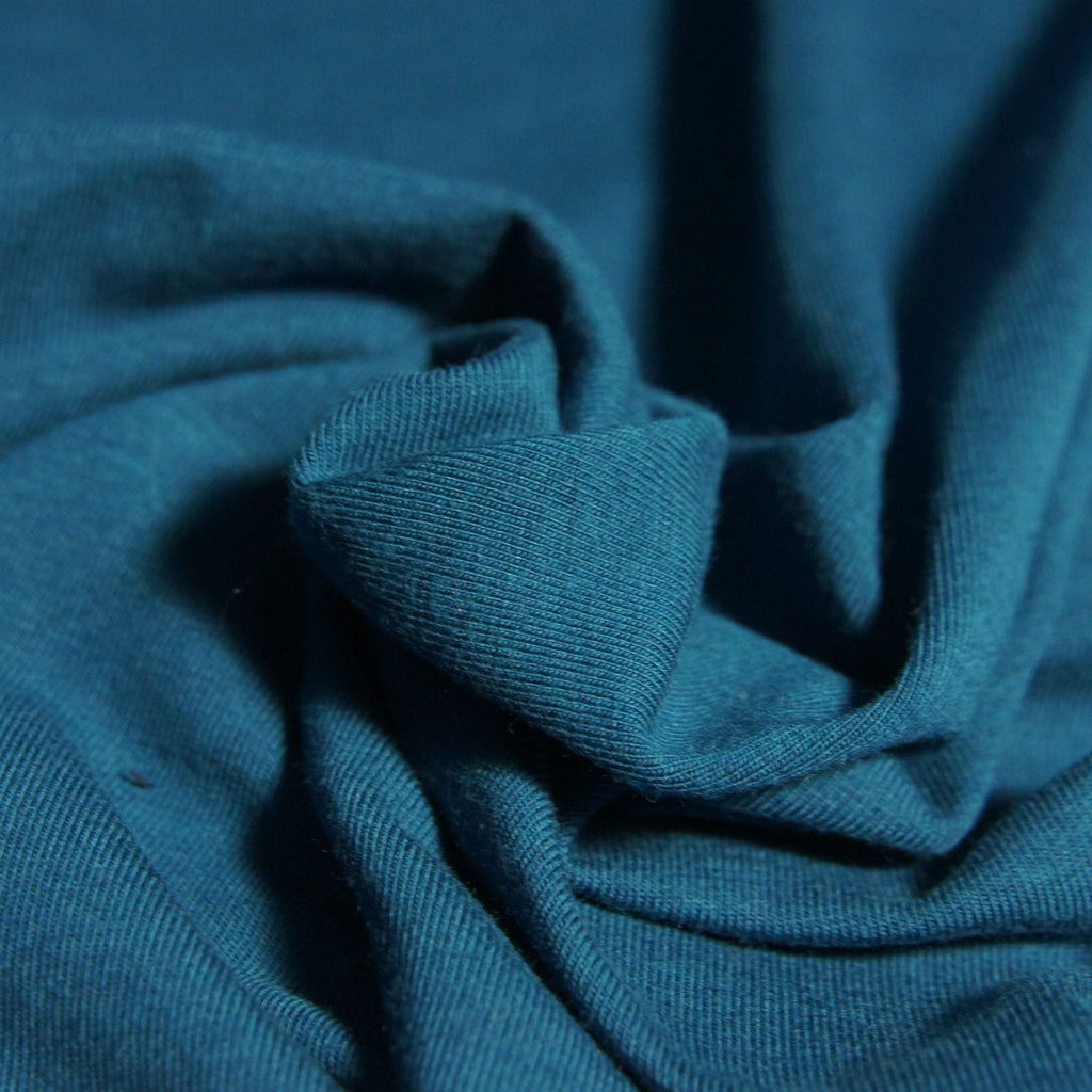 Tencel Organic Cotton Spandex Jersey - Moroccan - Knit - Earth Indigo