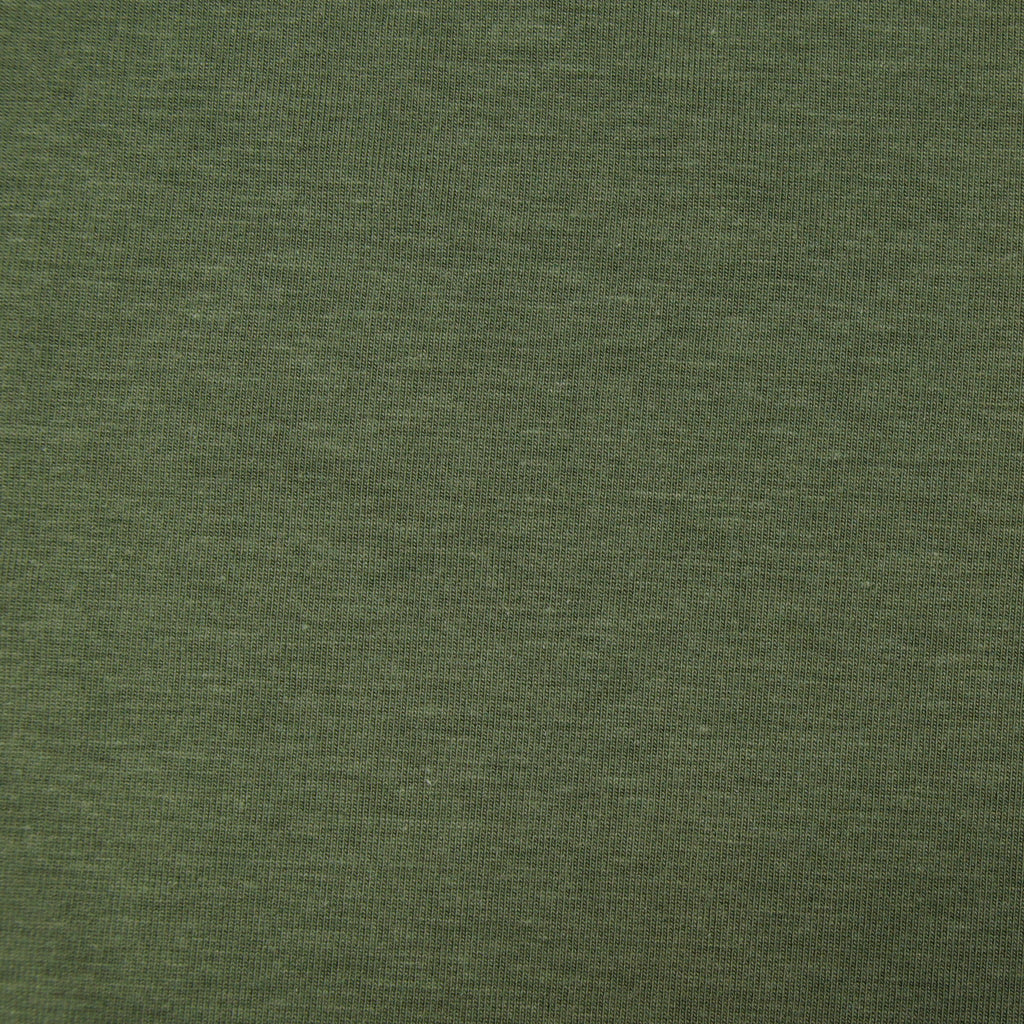 Tencel Organic Cotton Spandex Jersey - Moss - Earth Indigo