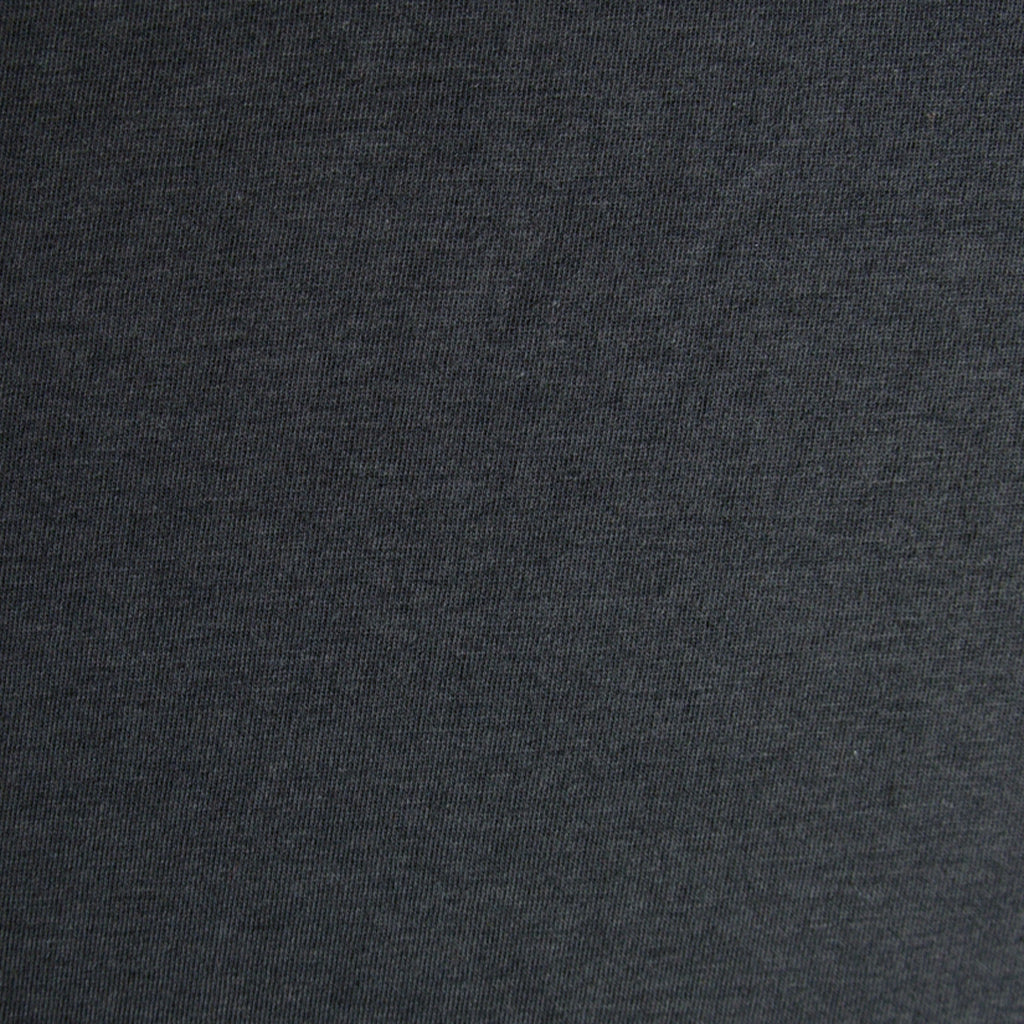Tencel Cotton Jersey - Dark Grey - [product_typpe] - Earth Indigo