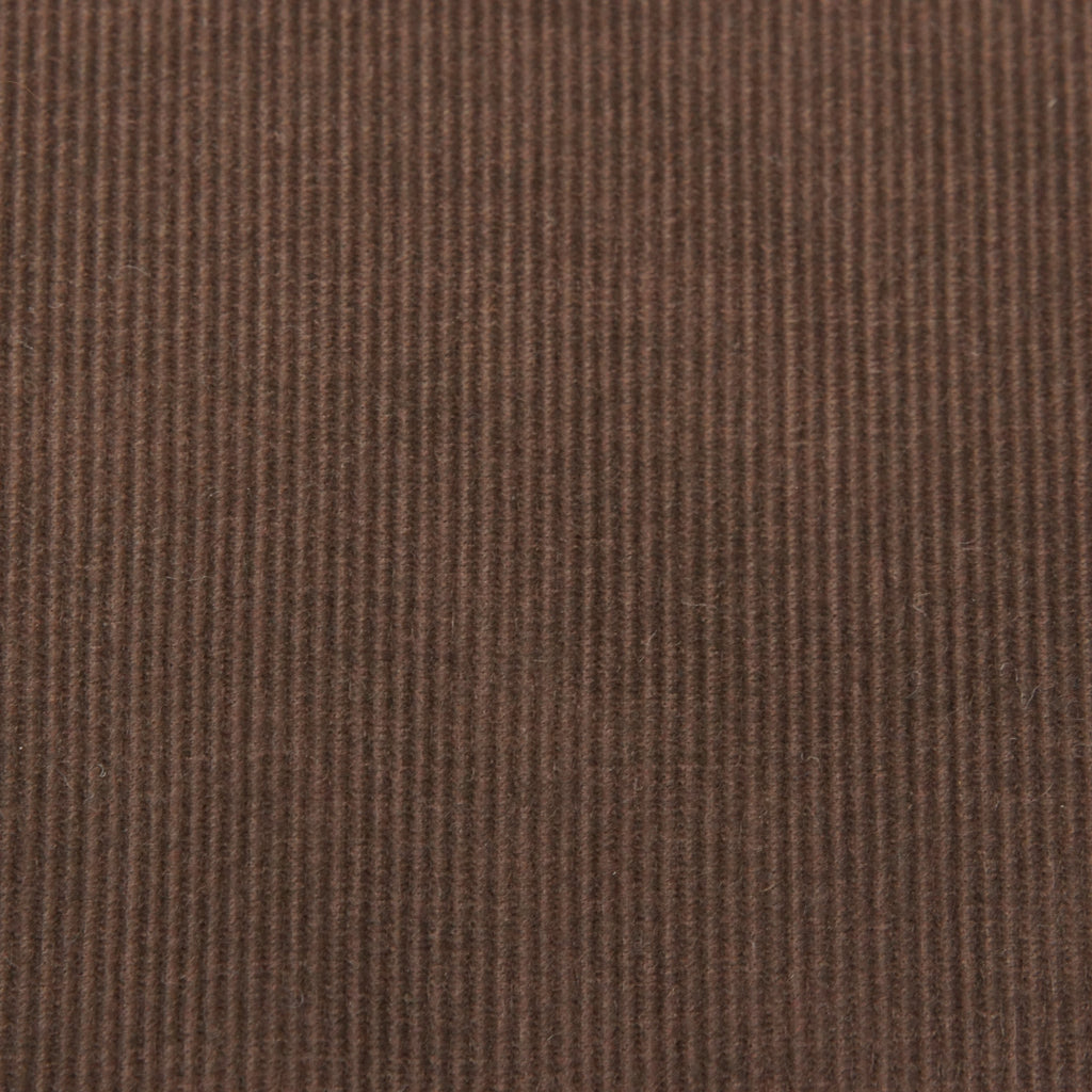 Japanese Lightweight Cotton Corduroy - Brown - woven - Earth Indigo