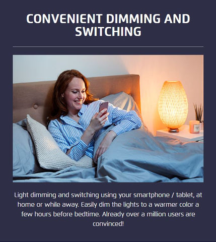 Convenient Dimming and Switching
