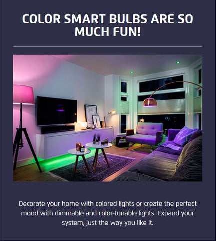 Color Smart Bulbs