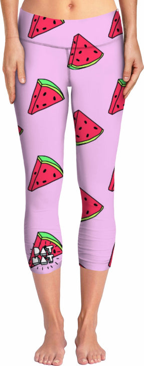 DAT MAT - Watermelon Yoga Pant