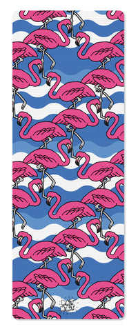 Flamingos Yoga Mat