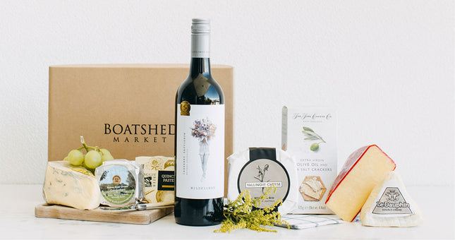 Cheese & Red Wine Hamper