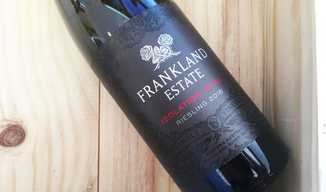 Frankland Estate 'Isolation Ridge' Riesling 2016, Frankland River
