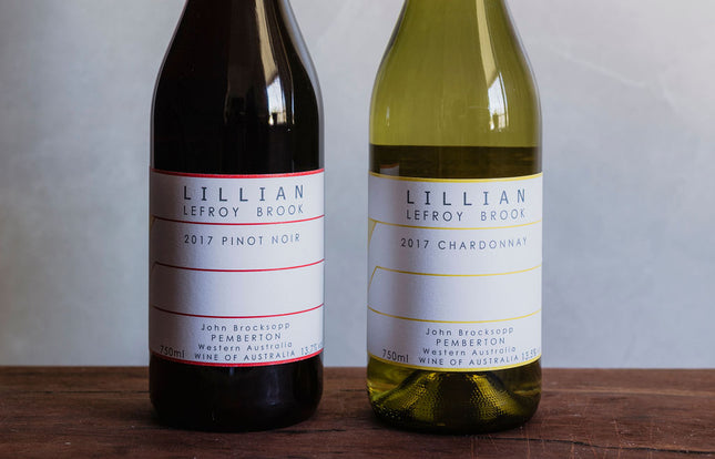 Father's Day Lillian Lefroy Brook Chardonnay & Pinot Noir 2 Pk