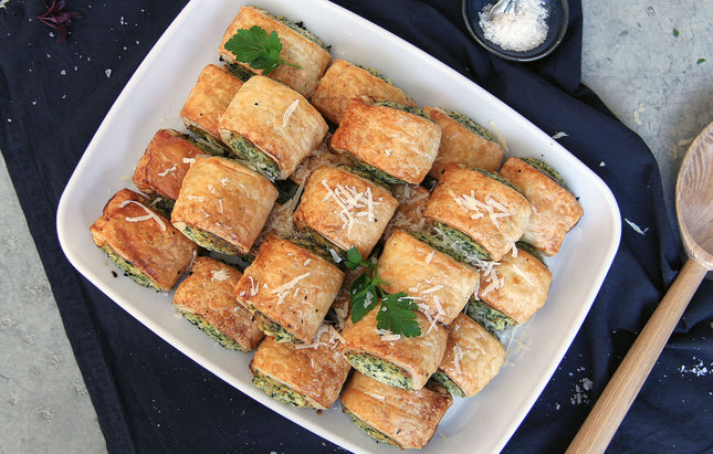 Mini Spinach & Ricotta Rolls