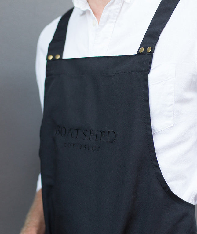 Deluxe Canvas Bib Apron - Mens