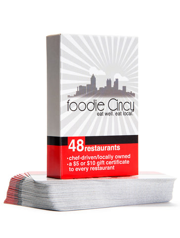 Cincy Chic Email Promotion - 2021 Foodie Cincy Deck