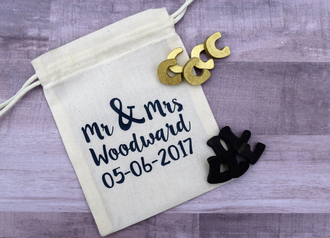 Tic Tac Toe Wedding Favor