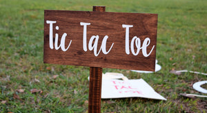 Tic Tac Toe Sign