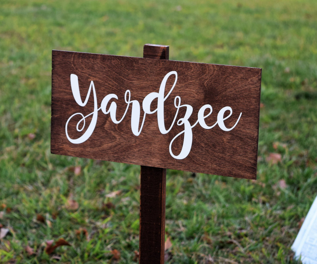 Yardzee Sign