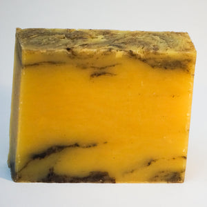 Burnt Orange Patchouli Natural Soap
