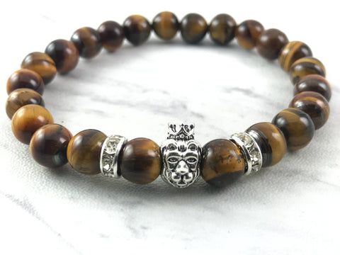 Lion's head Tiger eye