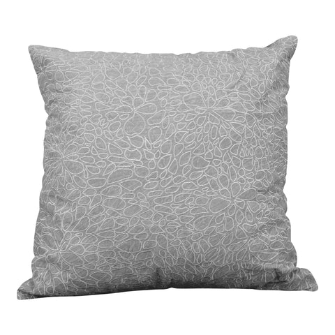 Cream & Gold Embroidered Pillow
