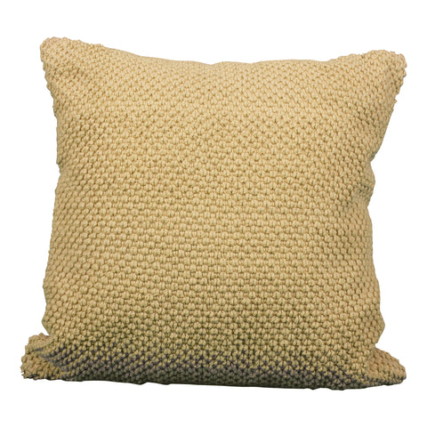 Navy Sweater Pillow