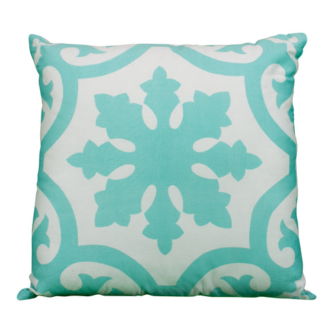 Frill Accent Pillow in Blue