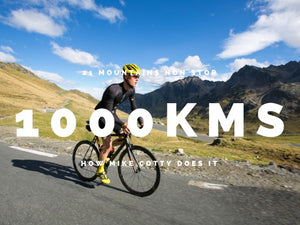 How to ride 1000kms and 21 Mountains non-stop