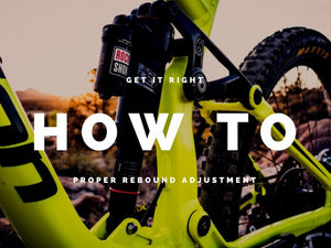 How to perfectly dial in your rebound on your rear shock