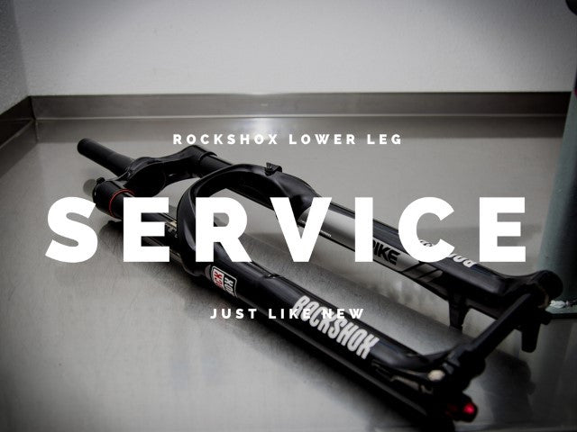 Rock Shox 50 Hour Lower Leg Service - Purchase oil and Seal Grease
