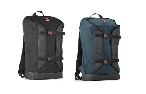 Chrome Kharkiv Back Pack - Indigo and Black